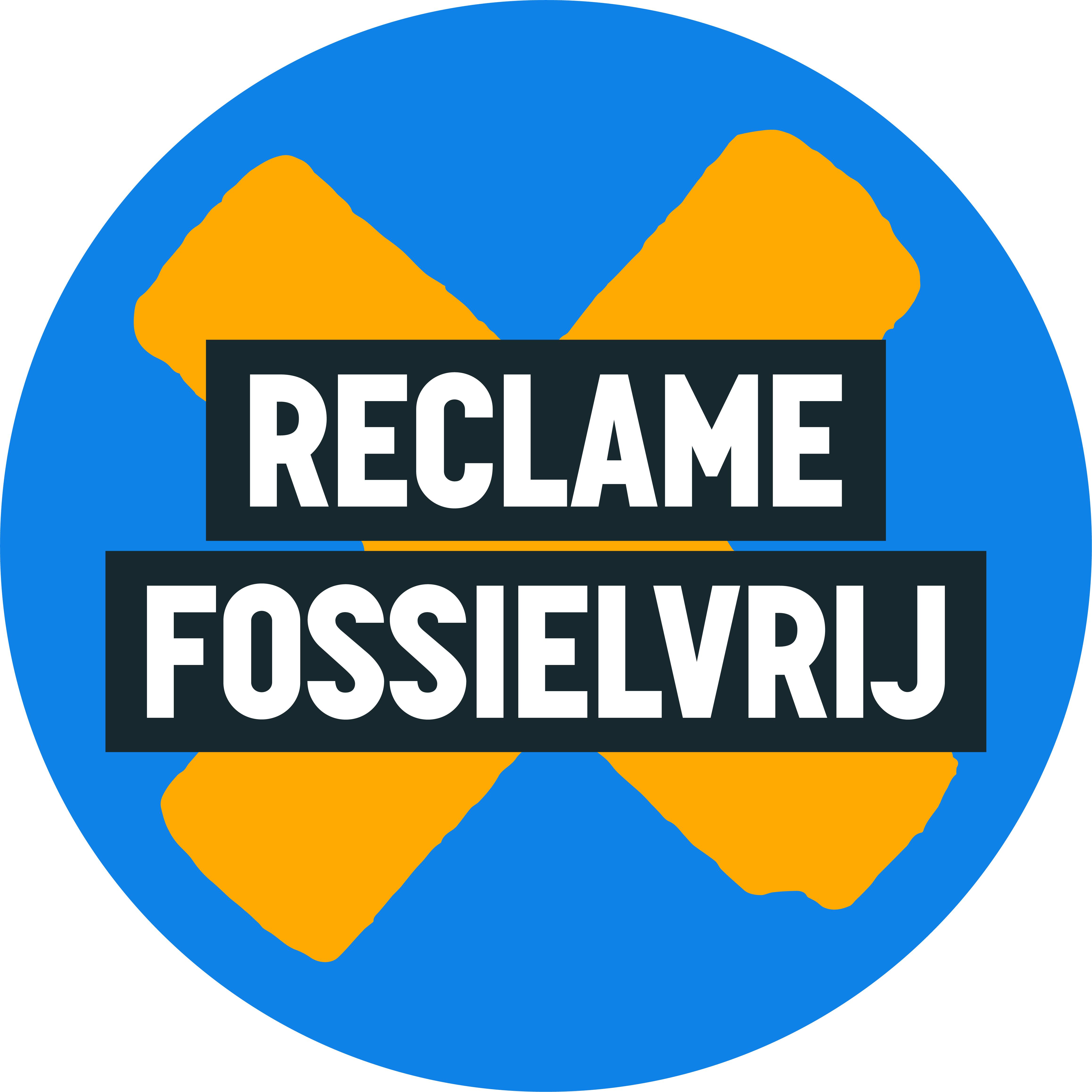 Reclame Fossiel Vrij logo